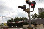 Нарушение правил на переезде Волгоград